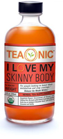 Teaonic I Love My Skinny Body Herbal Tea Supplement, 8oz.