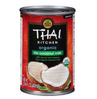 Thai Kitchen Organic Lite Coconut Milk, 13.66 oz.