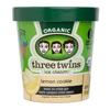 Three Twins Lemon Cookie Ice Cream, Pint