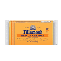 Tillamook Medium Cheddar, 8oz