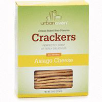 Urban Oven Asiago Crackers, 7.5oz.