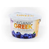 Wallaby Organic Low Fat Blueberry Greek Yogurt,  5.3oz.