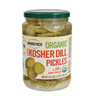 Woodstock Organic Sliced Kosher Dill Pickles, 24oz.