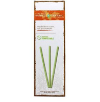 World Centric Compostable Straws, 50 count