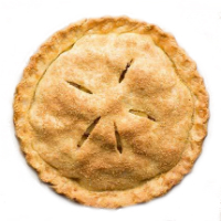 Manhattan Beach Bread & Bagel Granny Smith Apple Pie, 9in.