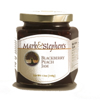 Mark & Stephen's Blackberry Peach Jam, 12oz.