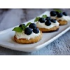 *Blue Cheese & Blueberry Bruschetta