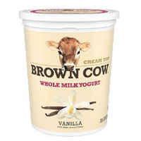 Brown Cow Whole Milk Vanilla Yogurt, 32oz