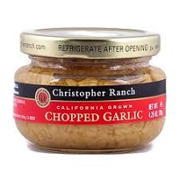 Christopher Ranch Chopped Garlic, 4.25oz