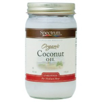 Spectrum Virgin Organic Unrefined Coconut Oil, 14oz
