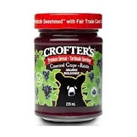Crofter's Organic Concord Grape Jam, 16.5 oz.