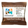Elemental Raw Dark Chocolate+Peanut Butter Bar, 1.8oz