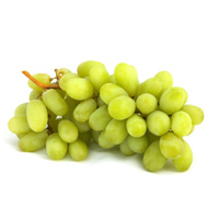 Organic Surgarone Green Seedless Grapes, 2.25lb Bag