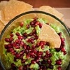 *Guacamole with Pear & Raspberries