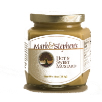 Mark & Stephen's Hot and Sweet Mustard, 10oz.