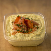 GROW Roasted Tomato Hummus 8oz.
