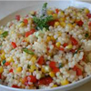 * Israeli Couscous With Peppers and Paprika