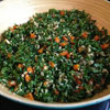 * Kale and Quinoa Salad with Dates and Almonds