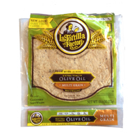 "La Tortilla Company Multi Grain 10"" Wraps, 6ct"