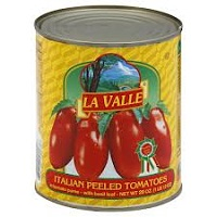 La Valle Whole Peeled Tomatoes, 28oz.