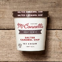 McConnell's Salted Caramel Chip Ice Cream, Pint
