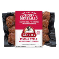 Aidell's Chicken & Mozzarella Meatballs, 12oz