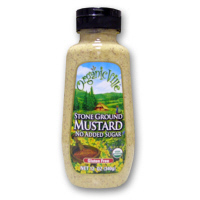Organicville Stone Ground Mustard, 12oz.