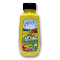 Organicville Yellow Mustard, 12oz.