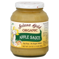 Solana Gold Organic Apple Sauce, 24oz.