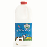 Organic Pastures Raw Whole Milk, 1/2 Gal.