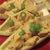 *Peanut-Curry Chicken Salad on Endive