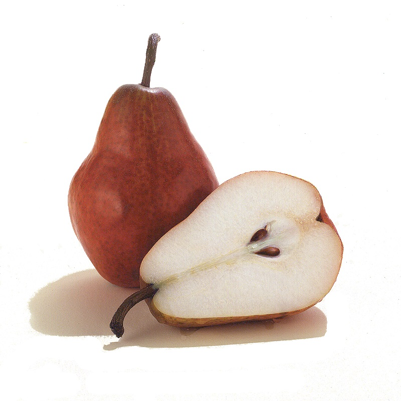 Organic Red D'Anjou Pear, ea._LARGE