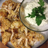 *Roasted Cauliflower w/ Whipped Goat Cheese