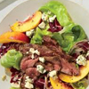 * Steak Salad with Nectarines and Blue Cheese