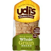 Udi's Gluten Free Whole Grain Bread, 12oz.