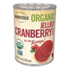 Woodstock Organic Jellied Cranberry Sauce, 14oz.