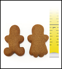 "Gingerbread 1"" Boy and Girl"