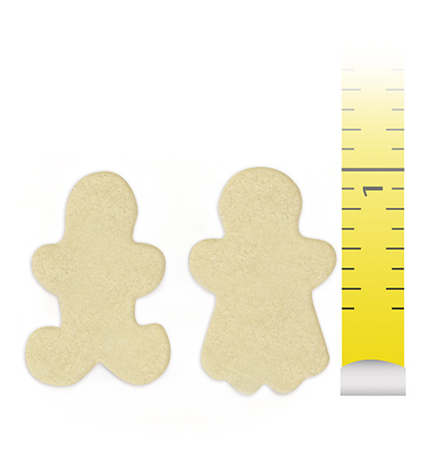 "Sugar Cookie 1"" Boy and Girl"