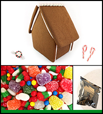 Assembled Alpine Gingerbread House Kit THUMBNAIL