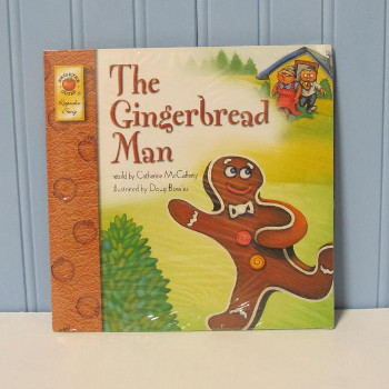 Book - The Gingerbread Man by Catherine McCafferty