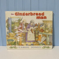 Book - The Gingerbread Man by Carol Jones