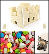 Sugar Cookie Castle Kit - Assembled