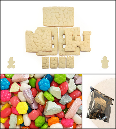 Sugar Cookie Castle Kit - Unassembled