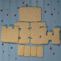 Once Upon A Time Sugar Cookie Castle Parts Only - Unassembled