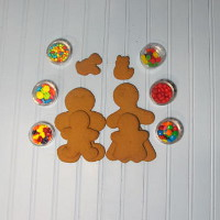 Gingerbread Cookie Family Kit