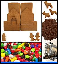 Dog Gingerbread House Kit - Unassembled_THUMBNAIL