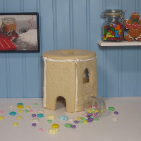 Do You Believe In Magic! Sugar Cookie Fairy Gazebo Only - Assembled