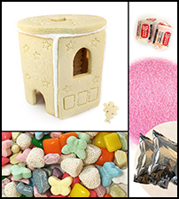 Sugar Cookie Fairy Gazebo Kit - Assembled_THUMBNAIL