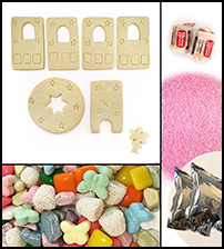 Sugar Cookie Fairy Gazebo Kit - Unassembled_THUMBNAIL