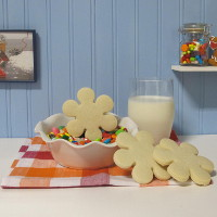 Sugar Cookie Flower Cookies